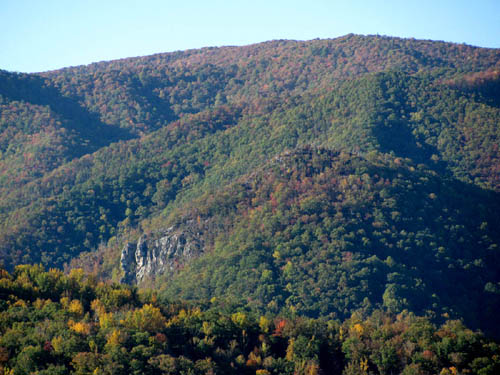 Whitehouse Mountain and Cliffs