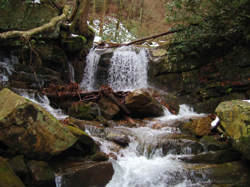 Cascades Along Margarette Trail