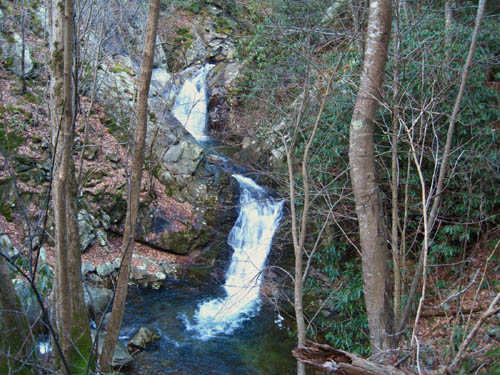 Double Falls on Devils Creek