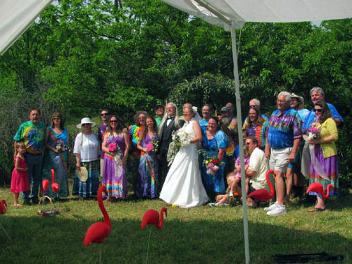 Hoppy and Birdy Wedding