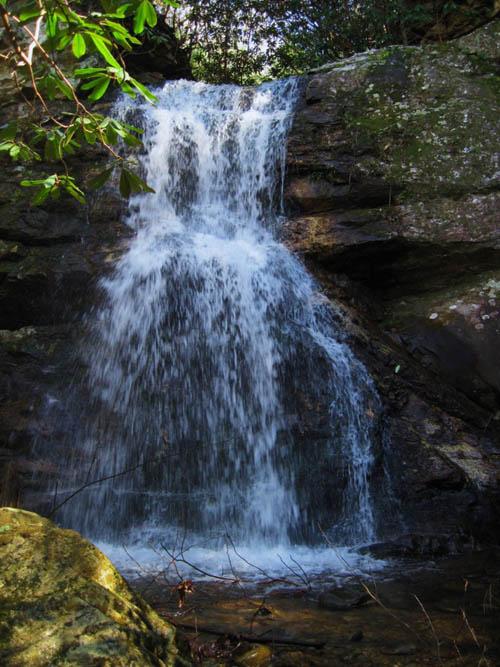 Upper Devils Fork Falls aka Lillybeth Falls