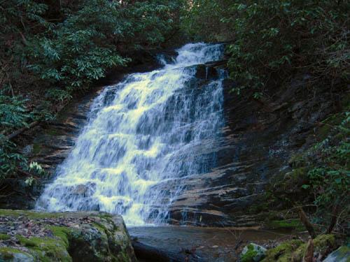Middle Devils Fork Falls aka Josiah Falls