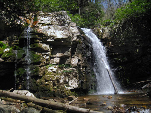 Lower part of Gentry Creek Falls