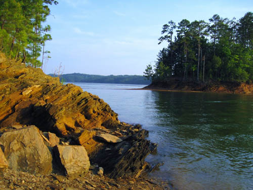 Carters Lake, Georgia