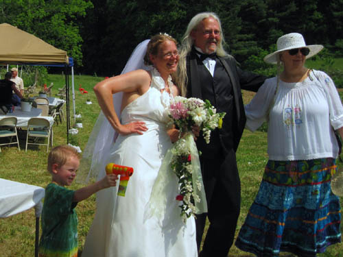 Hoppy and Birdy Wedding